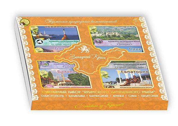 Подарочный набор: «Западный Крым 6х50»