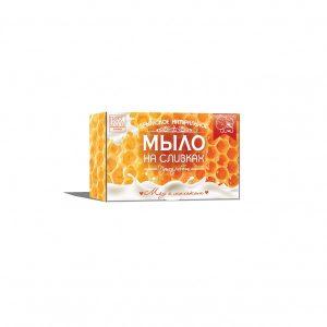 Мыло: «Мёд с молоком»